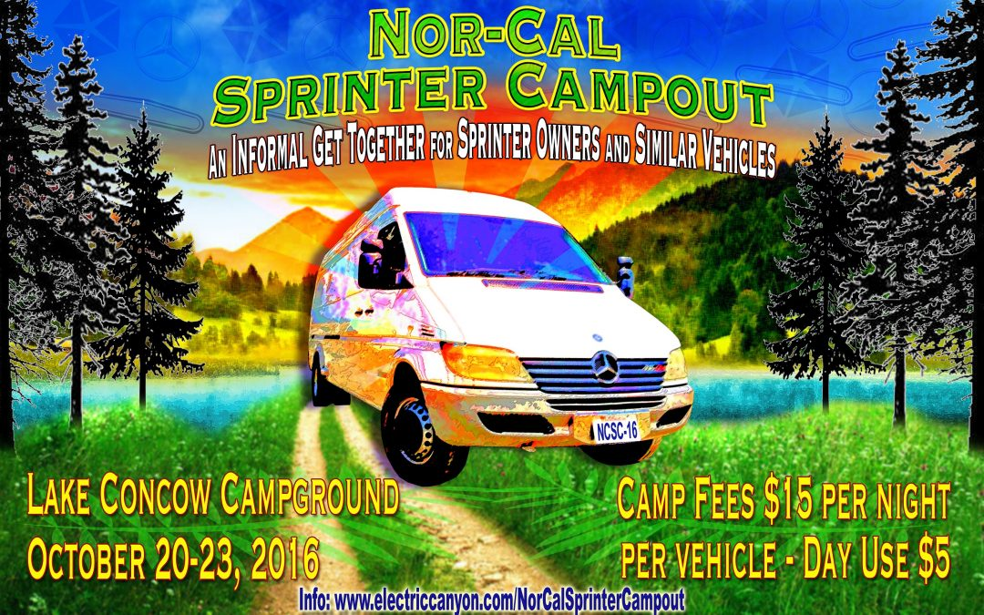 NorCalSprinterCampout – A Sprinter Van Get Together