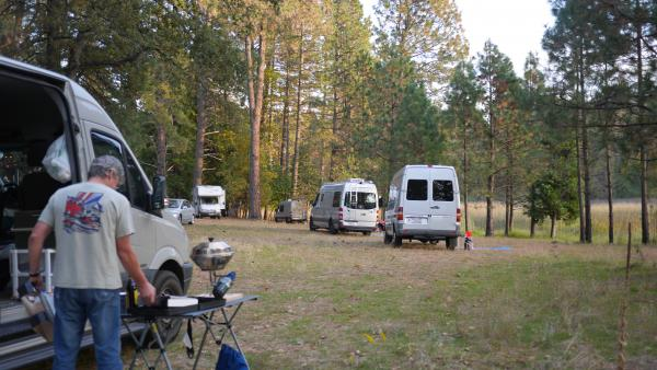 Nor Cal Sprinter Campout
