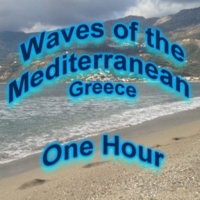 Waves of the Mediterranean Sea_One Hour