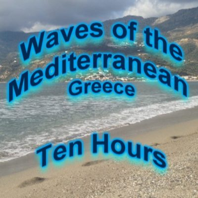 Waves of the Mediterranean Ambient Sounds