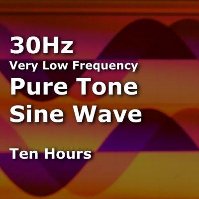 Sine Wave 30Hz TenHours