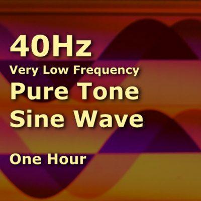 Pure Sine Wave 40Hz