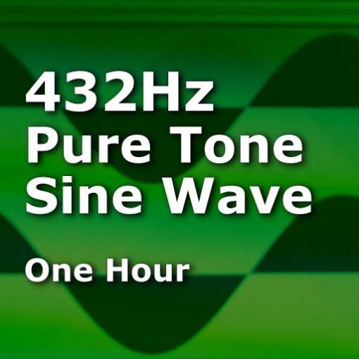 Pure Sine Wave 432Hz One Hour