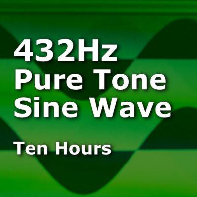 Pure Sine Wave 432Hz
