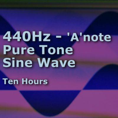 Pure Sine Wave A-440Hz