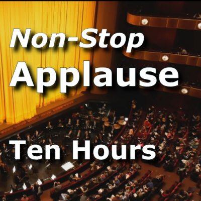 Nonstop Applause 10 Jour