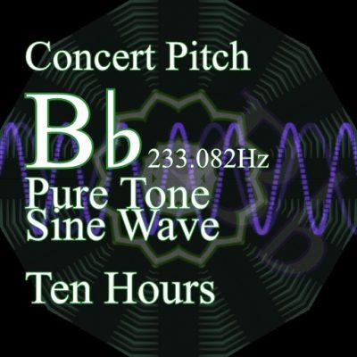 Pure Sine Wave BFlat