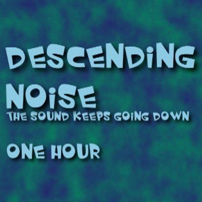 Descending Noise Shepard Tone Inspired