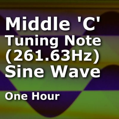 Middle C (261.63Hz)