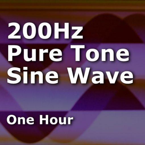 200Hz Sine Wave