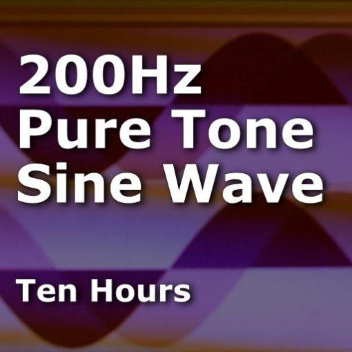 Sine Wave 200Hz
