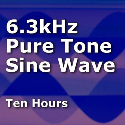Sine Wave 6300Hz